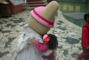 マロンクリームちゃんと娘